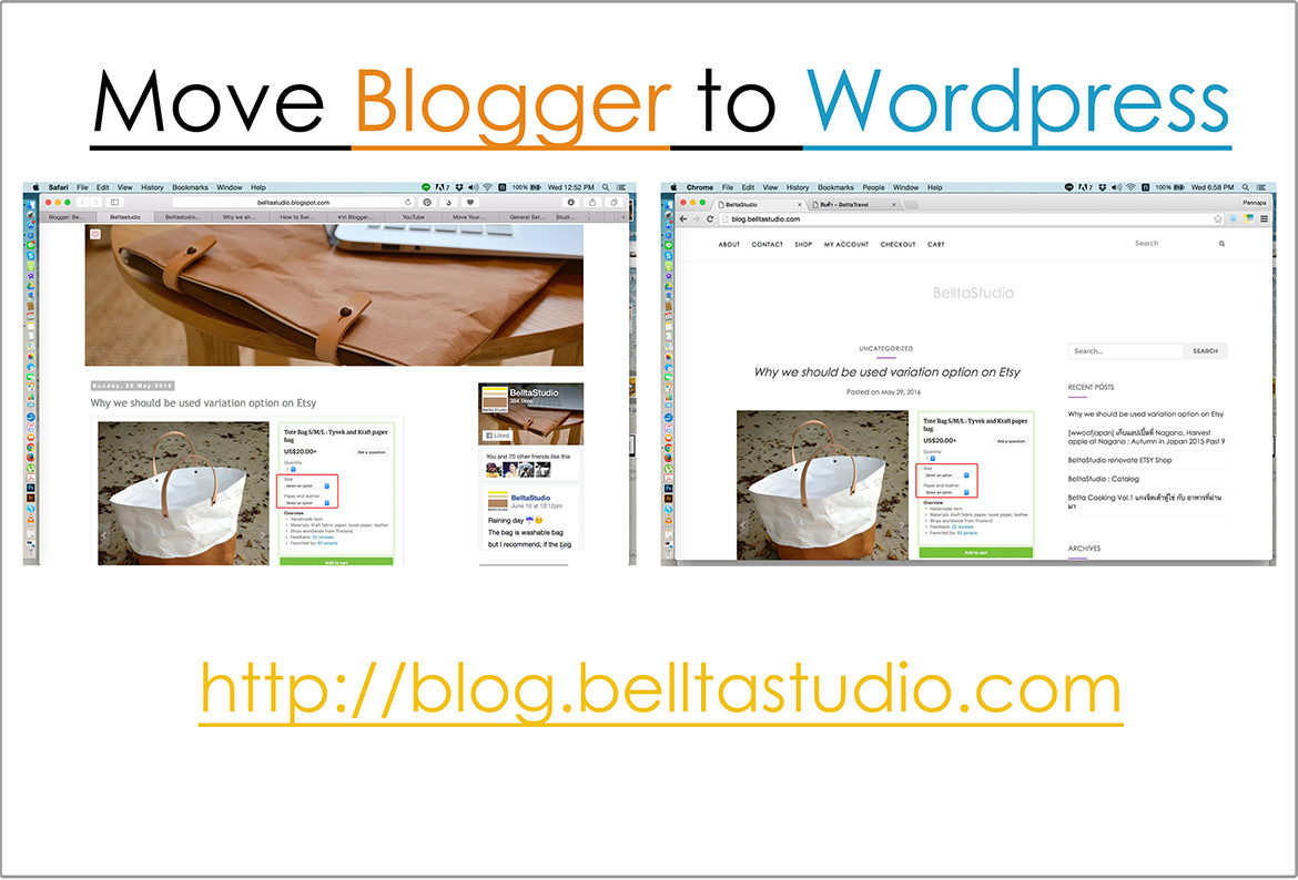 move blogger to wordpress5